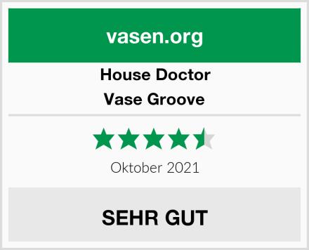 House Doctor Vase Groove Test