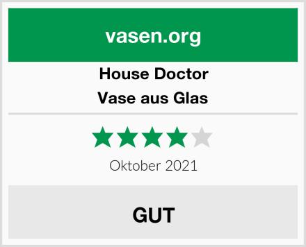 House Doctor Vase aus Glas Test