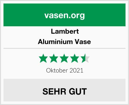 Lambert Aluminium Vase Test