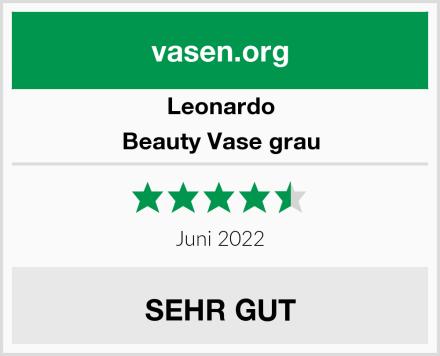 Leonardo Beauty Vase grau Test