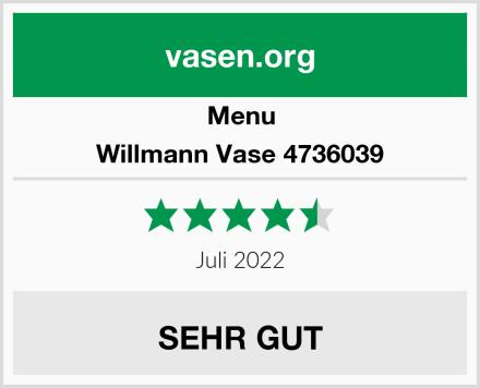Menu Willmann Vase 4736039 Test