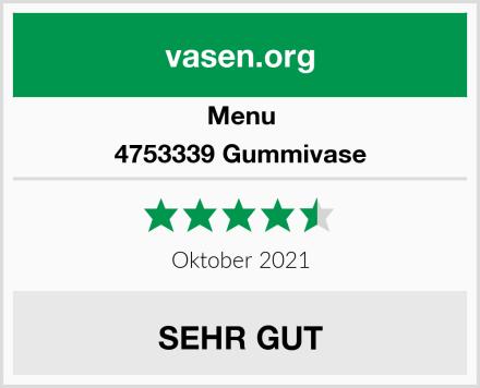 Menu 4753339 Gummivase Test