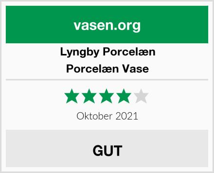 Lyngby Porcelæn Porcelæn Vase Test