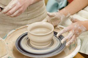 Herstellung von Vasen