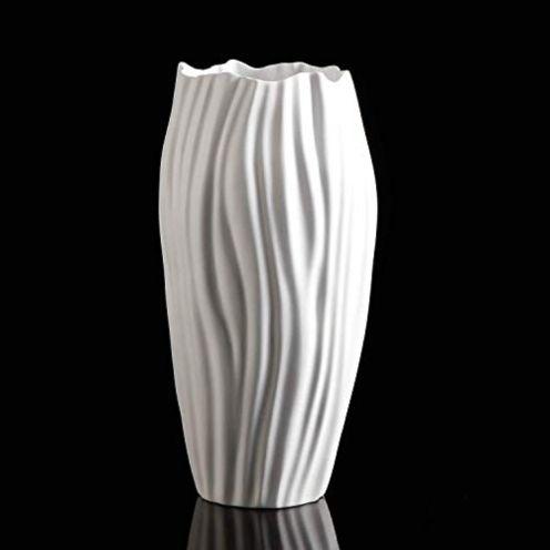 Kaiser Porzellan Vase Spirulina
