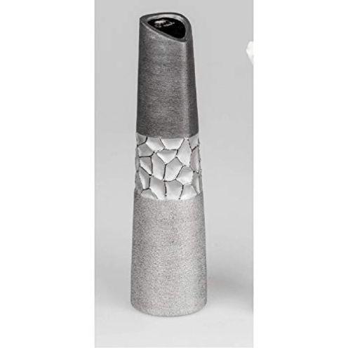 Formano Vase Silber-grau 40 cm