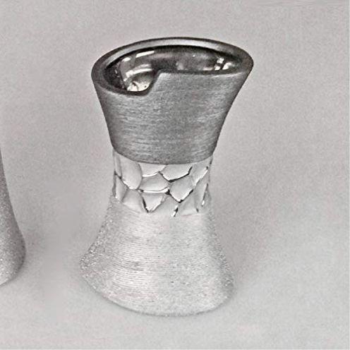 Formano Vase Silber-grau 11 x 20 cm