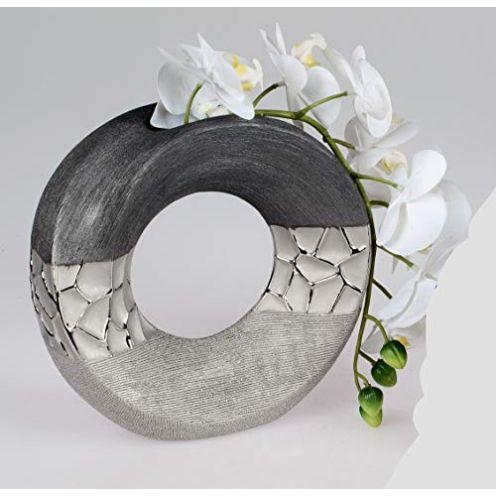 Formano Vase Silber-Grau