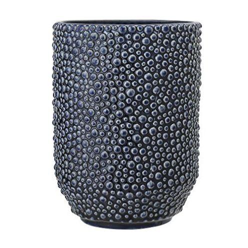Bloomingville Keramik Vase in Blau