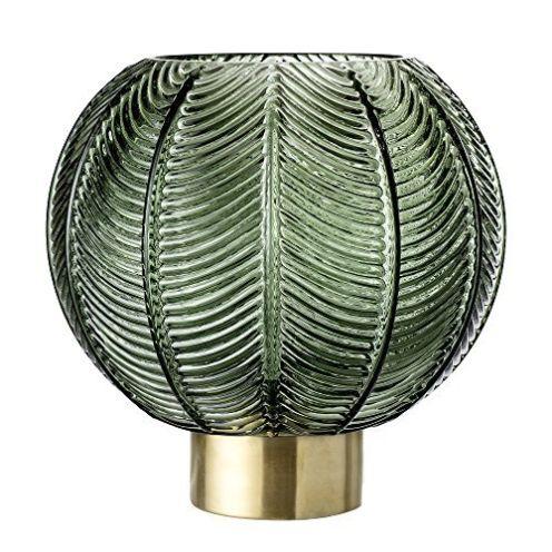Bloomingville Vase aus Glas Grün