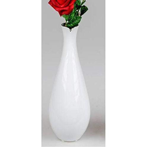 Formano Rosenvase in Weiß